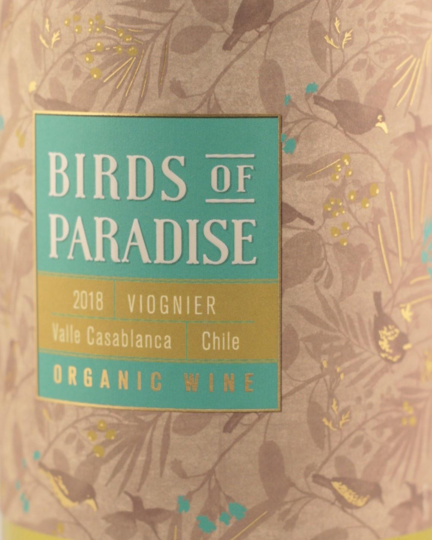 Birds of Paradise  white |Viognier| Valle de cassablanca