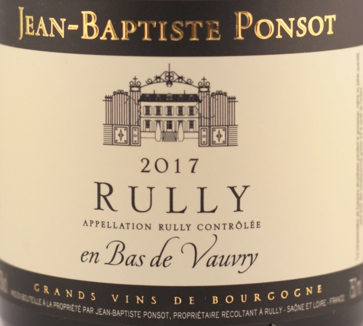 Domaine Jacqueson | Rully | 1er Cru les Cloux | 2017