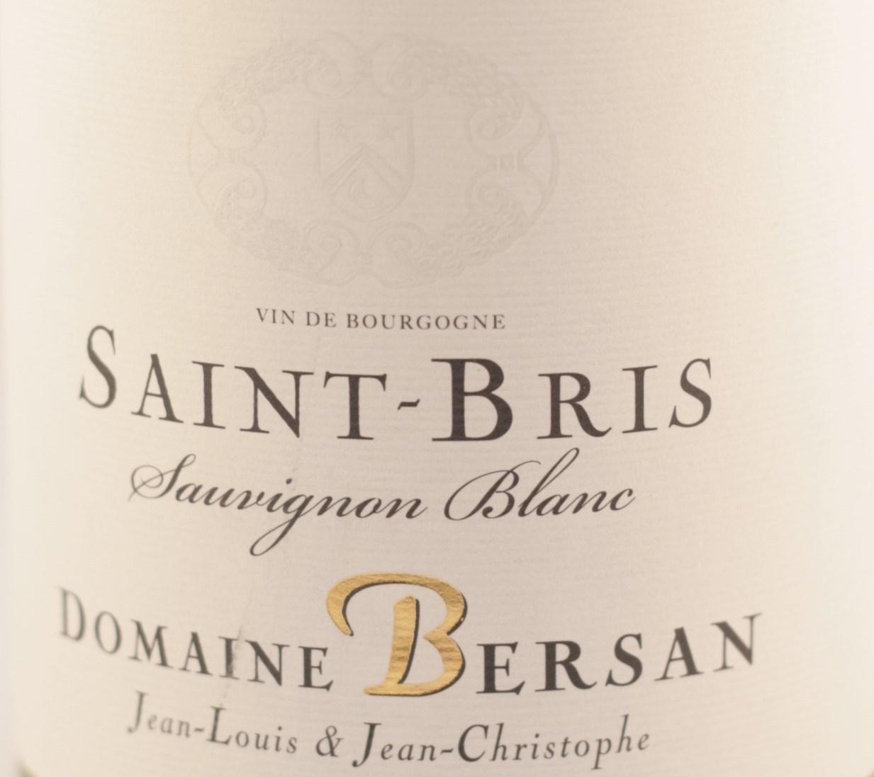 Saint - Bris | Domaine Bersan | 2017 | Bourgogne | Sauvignon blanc