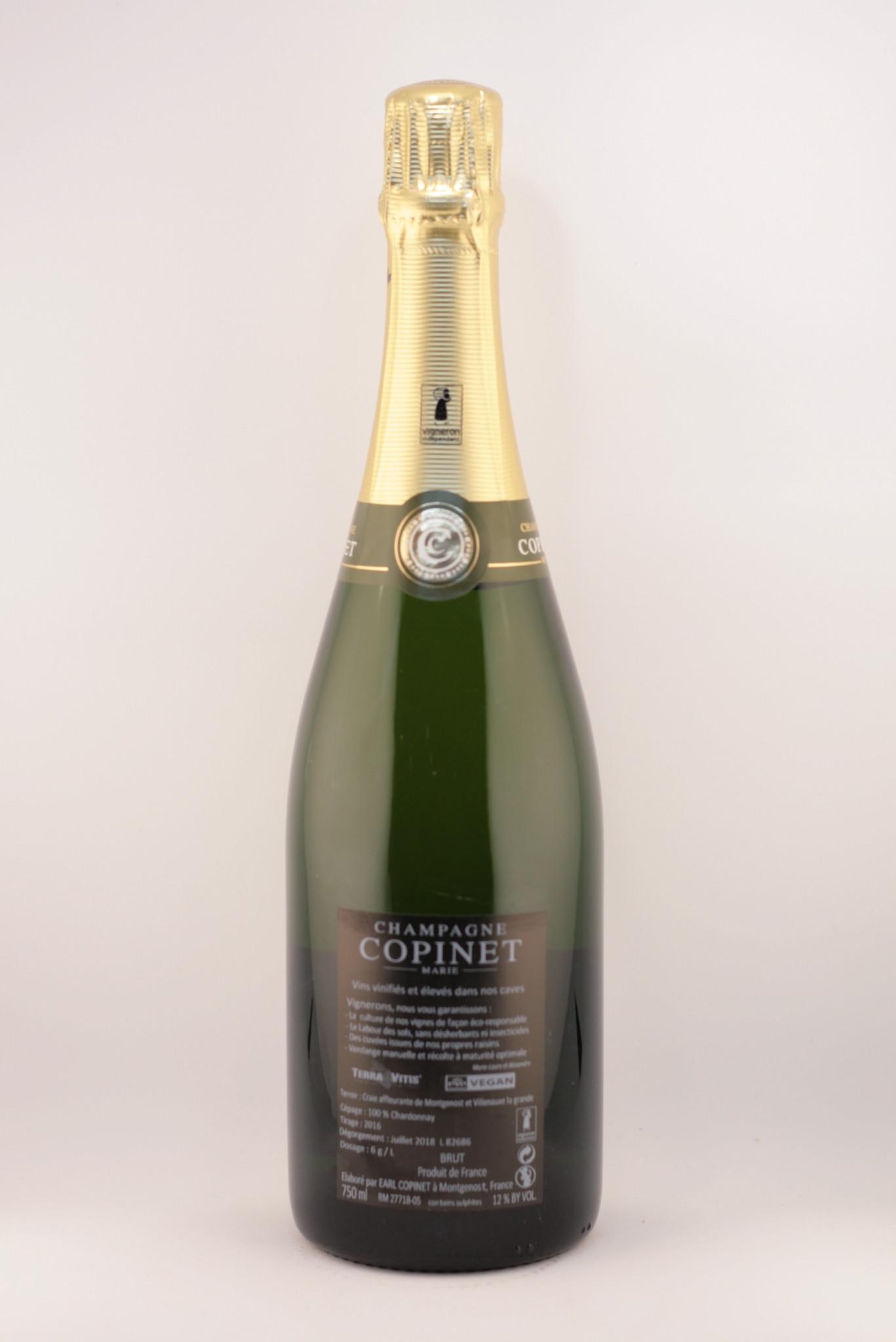 Champagne   Marie Copinet   Blanc de Blanc   Biodynamisch
