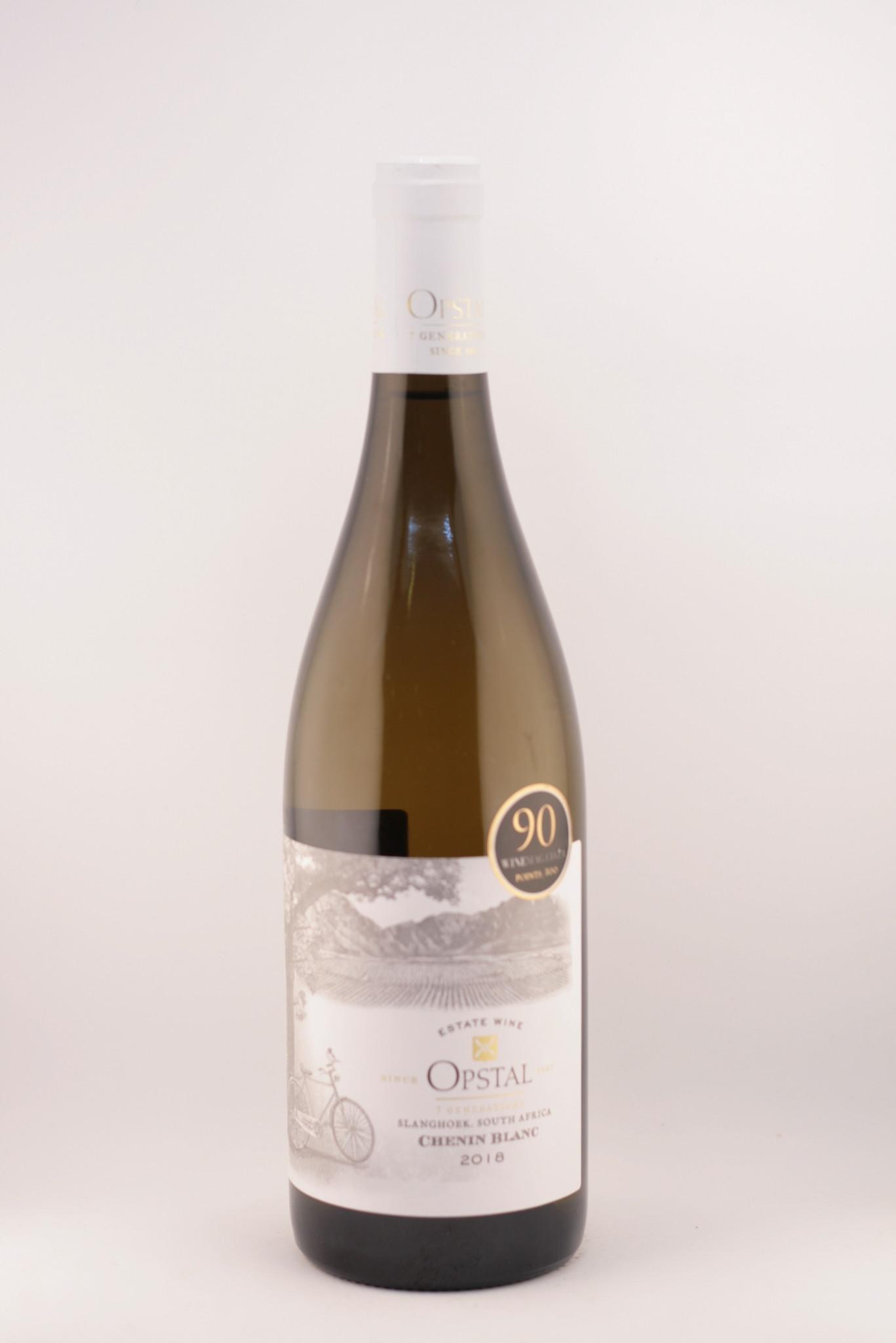 Estate wine |Opstal |Slanghoek | Chenin Blanc |2018
