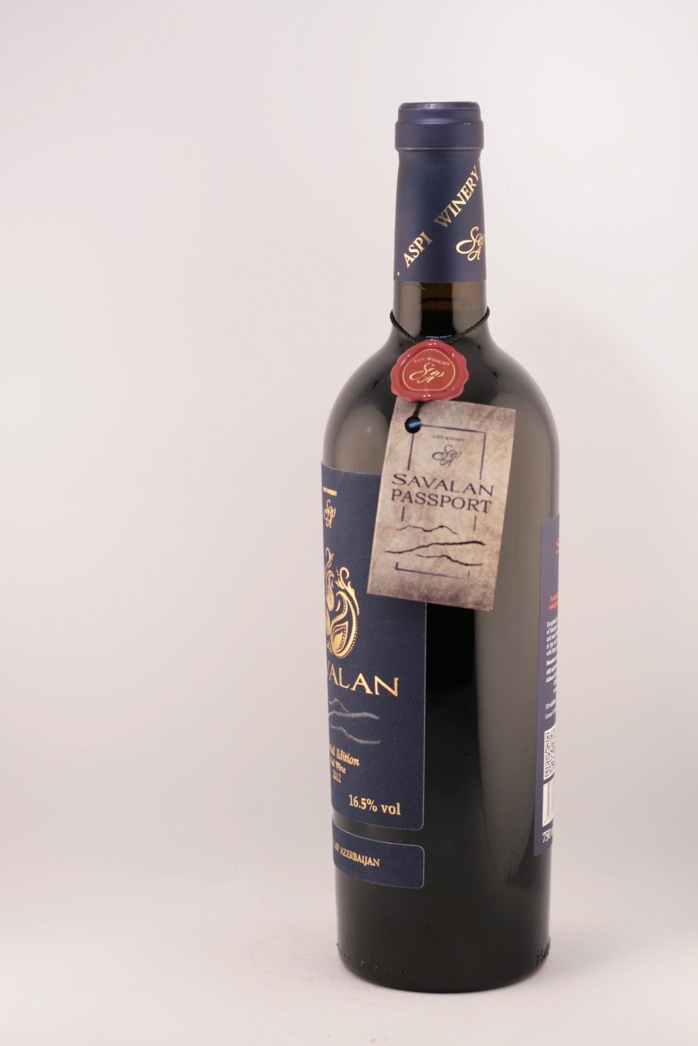 Savalan | Special Edition Syrah | red dry | 2012