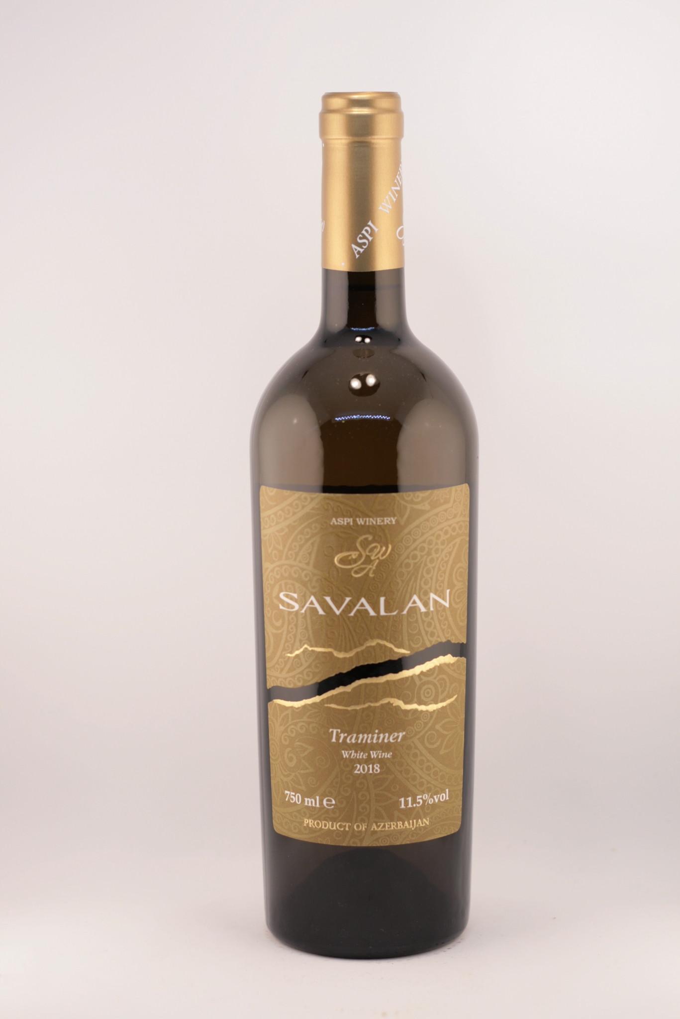 Savalan | Traminer | White dry | ASPI Winrey| 2018