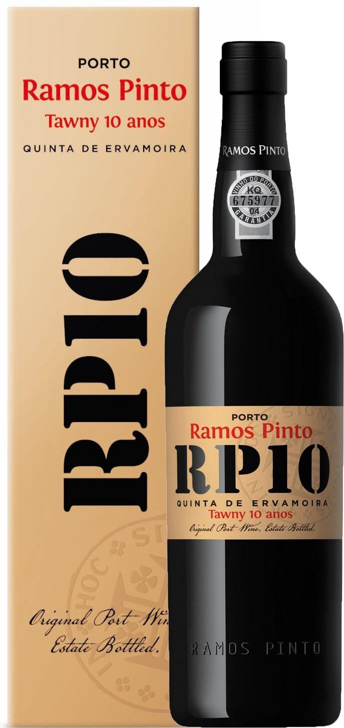 Ramos Pinto | RP10 | Tawny Port |Quinta Da Ervamoira IN cadeau verpakking