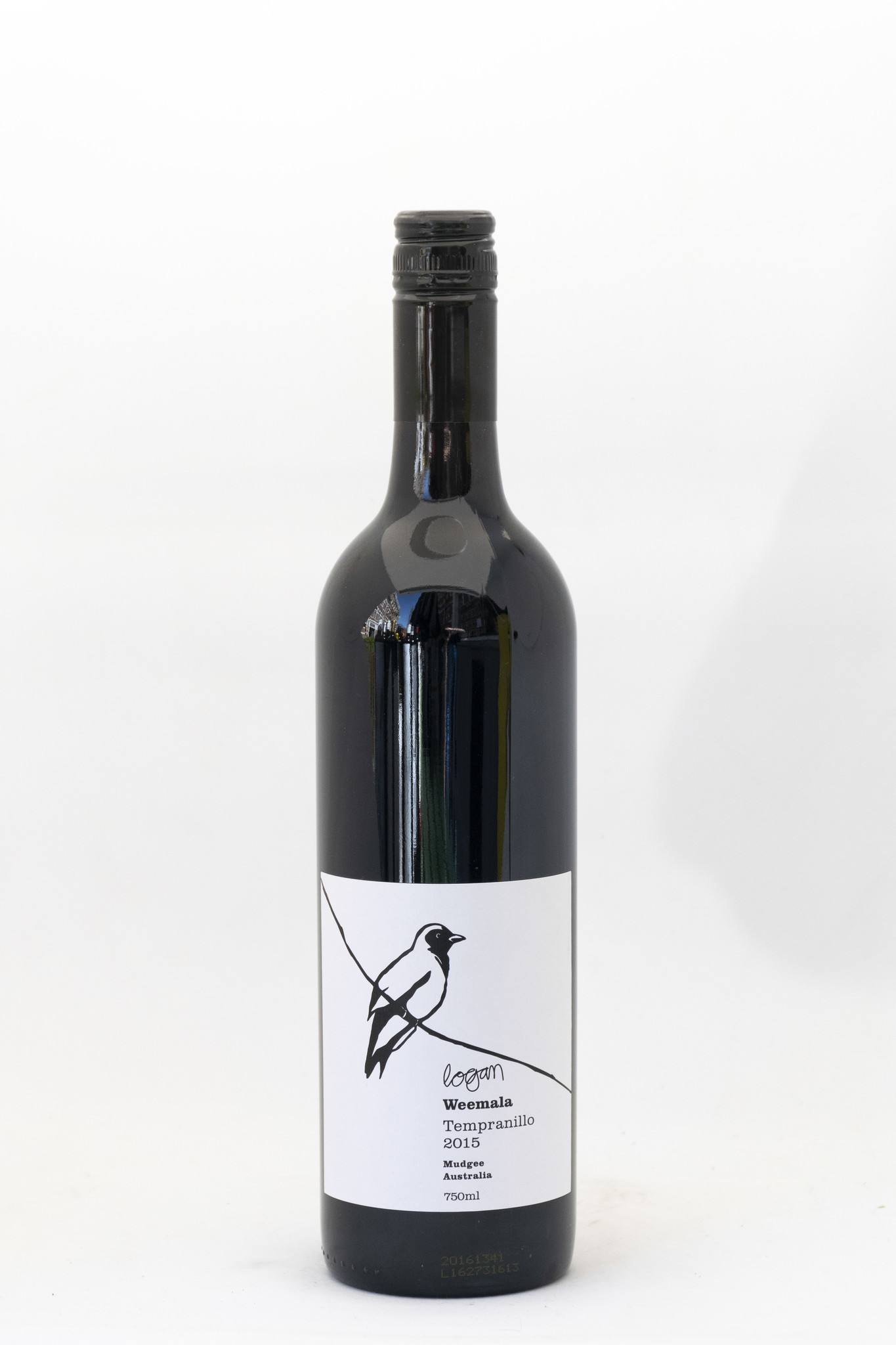 Cucko Strike | Weemala | Logan wines | Tempranillo|2015
