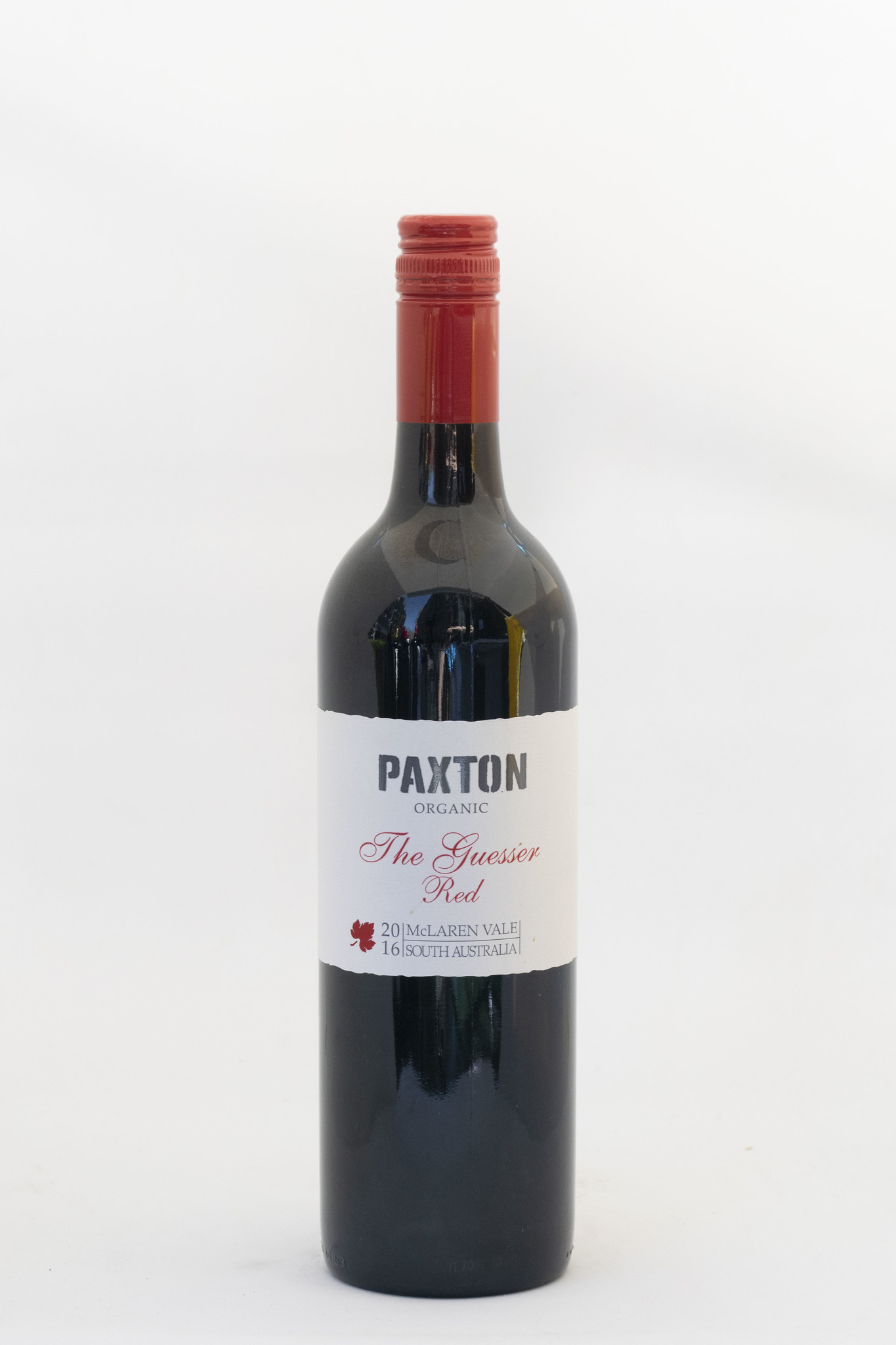 The Guesser Red | Paxton | 2016 |  Mc Laren Valley | Organic
