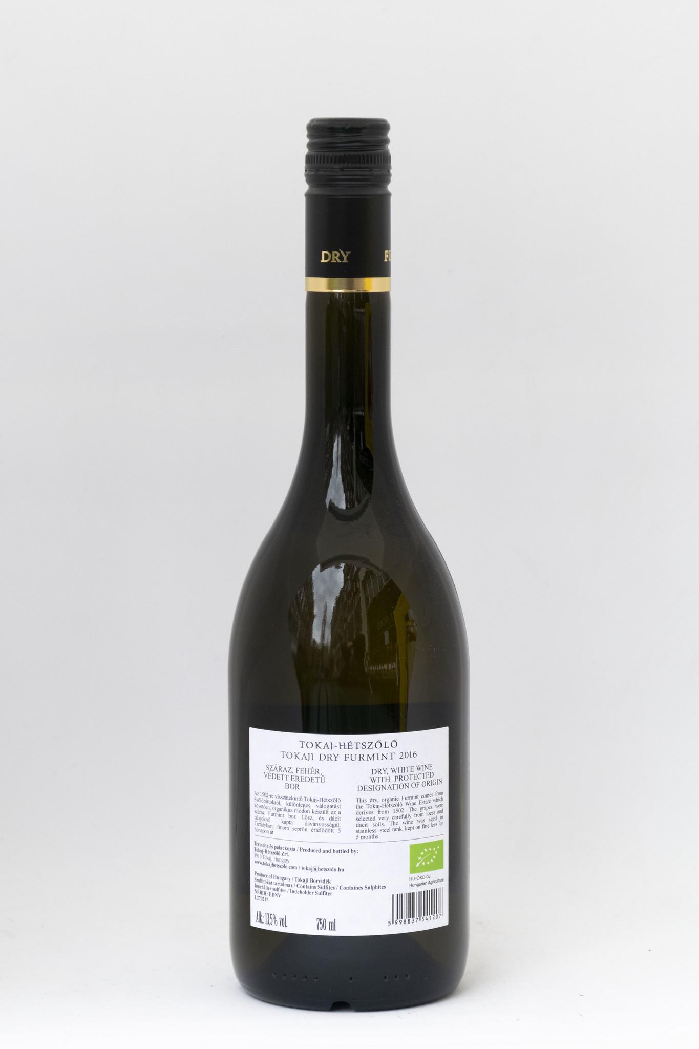 Hetszolo Tokaji | Furmint Dry |Organic| Tokaji - Hegyalja