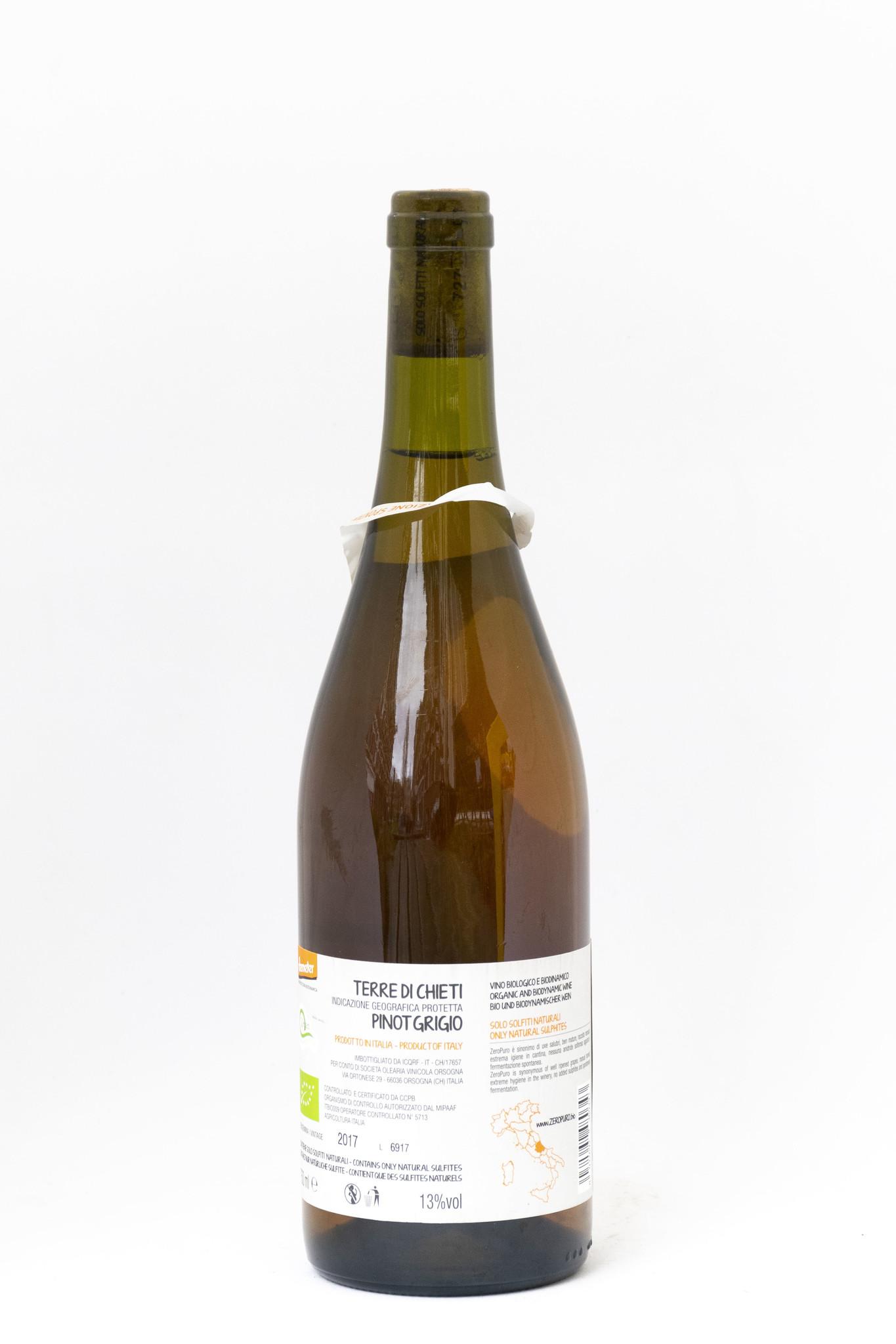 Landae Zero Puro | Lunaria Orsogna | Pinot Grigio | Rosé