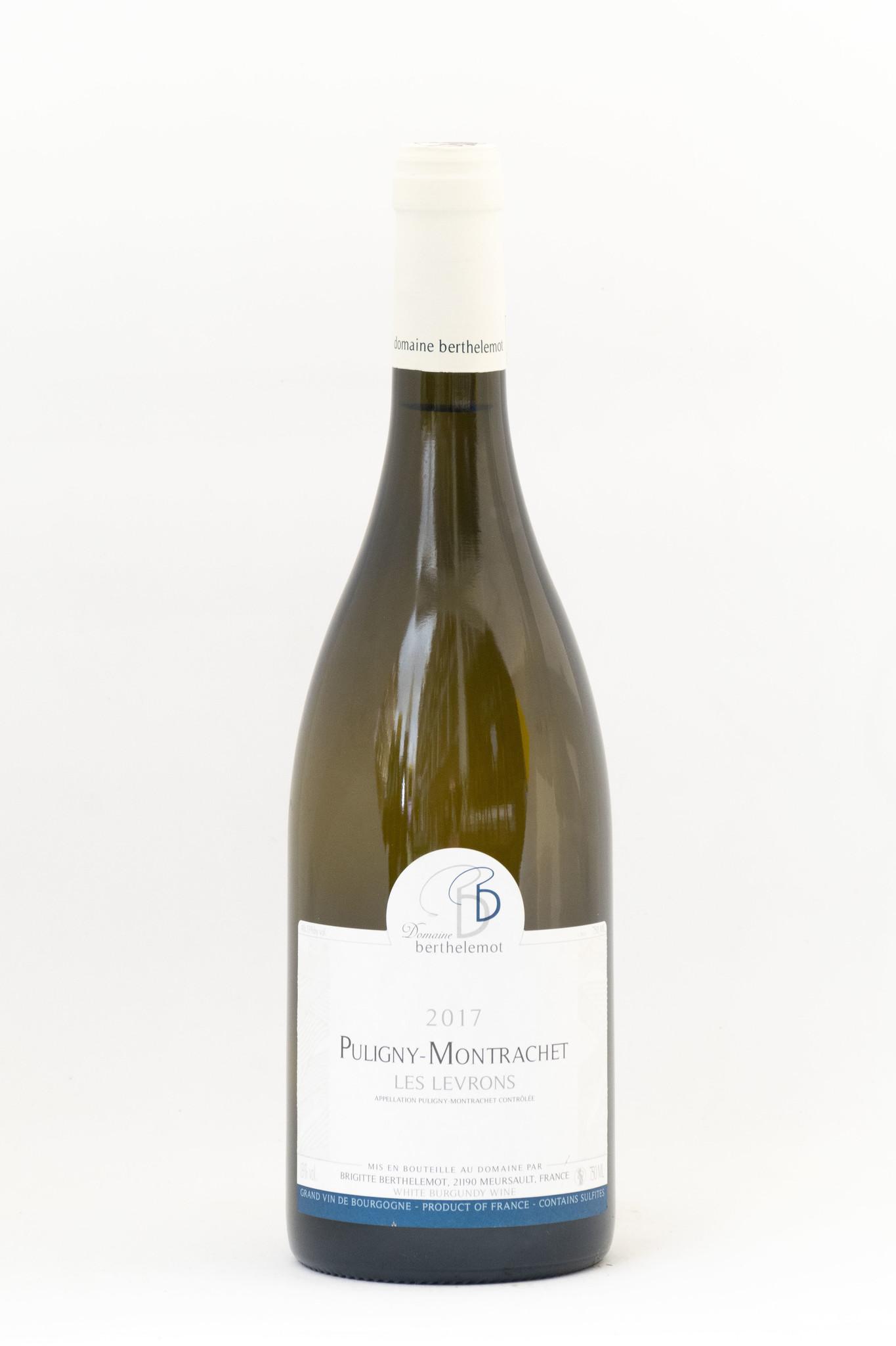 Les Levrons  Puligny- Montrachet  Domaine Berthelemot  Cotes de Beaune