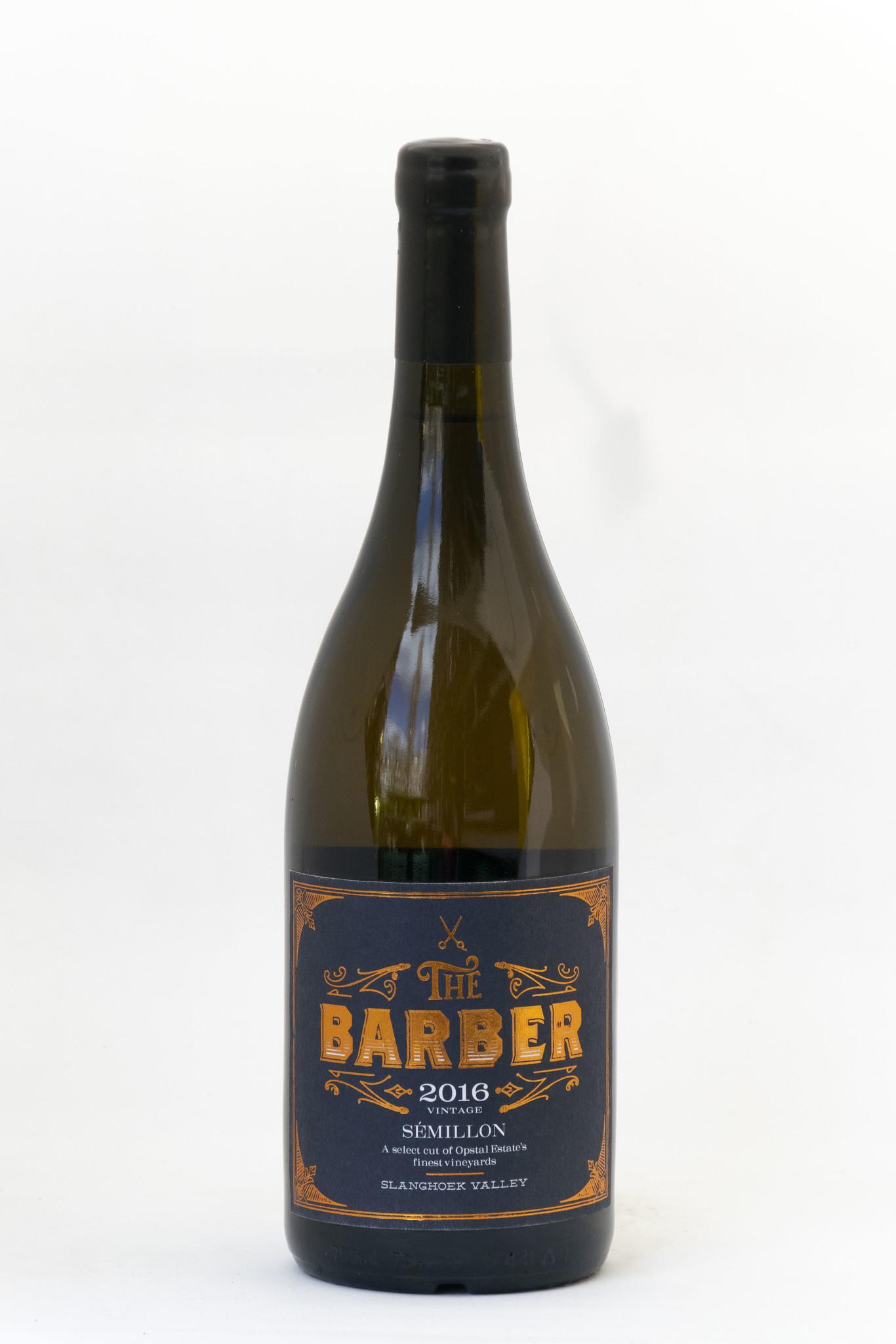 The Barber | Opstal Winery | semillon | Slanghoek | 2016