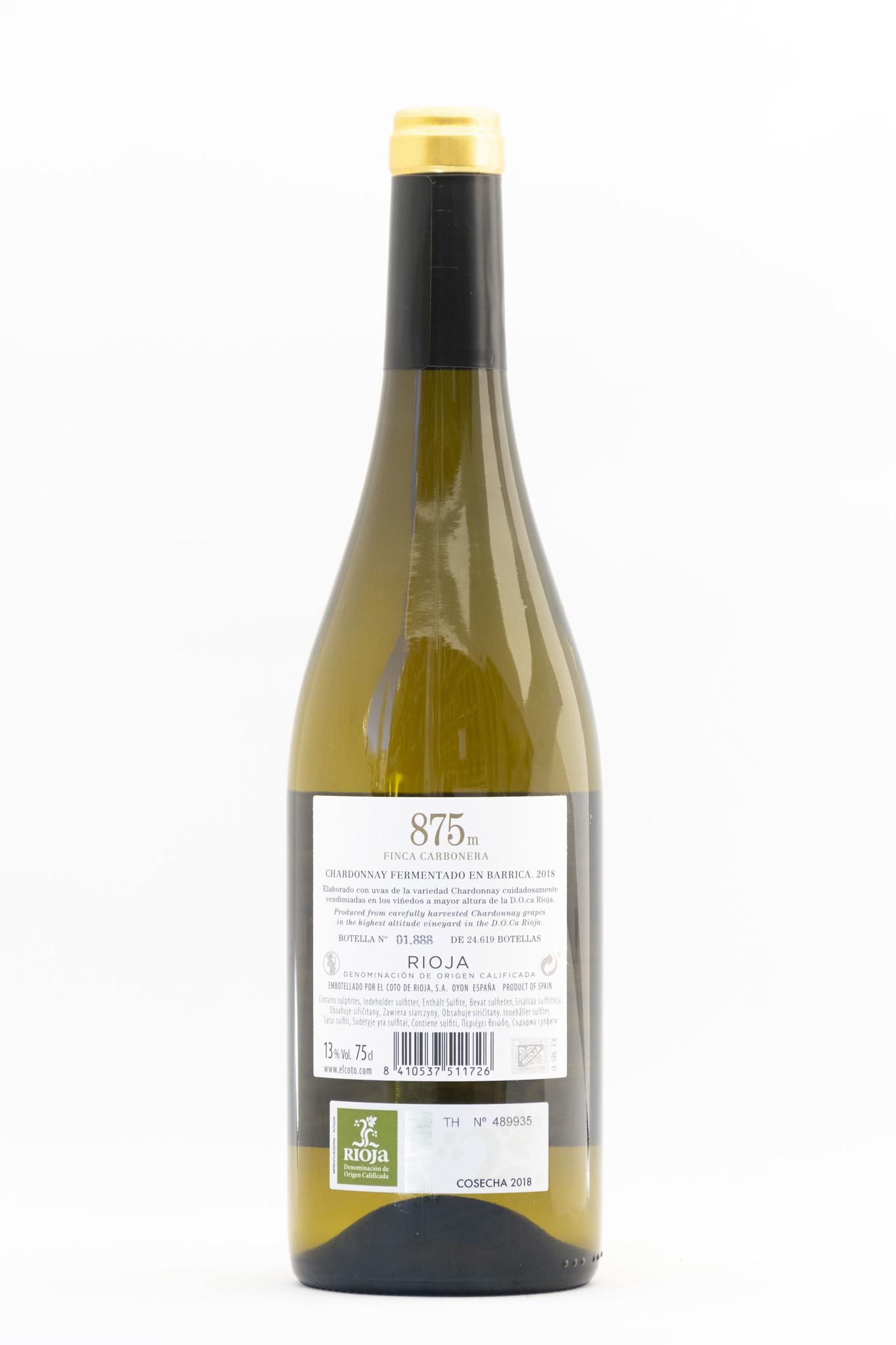 EL Coto 875 M  | EL Coto | Barrica  | Chardonnay  | Rioja