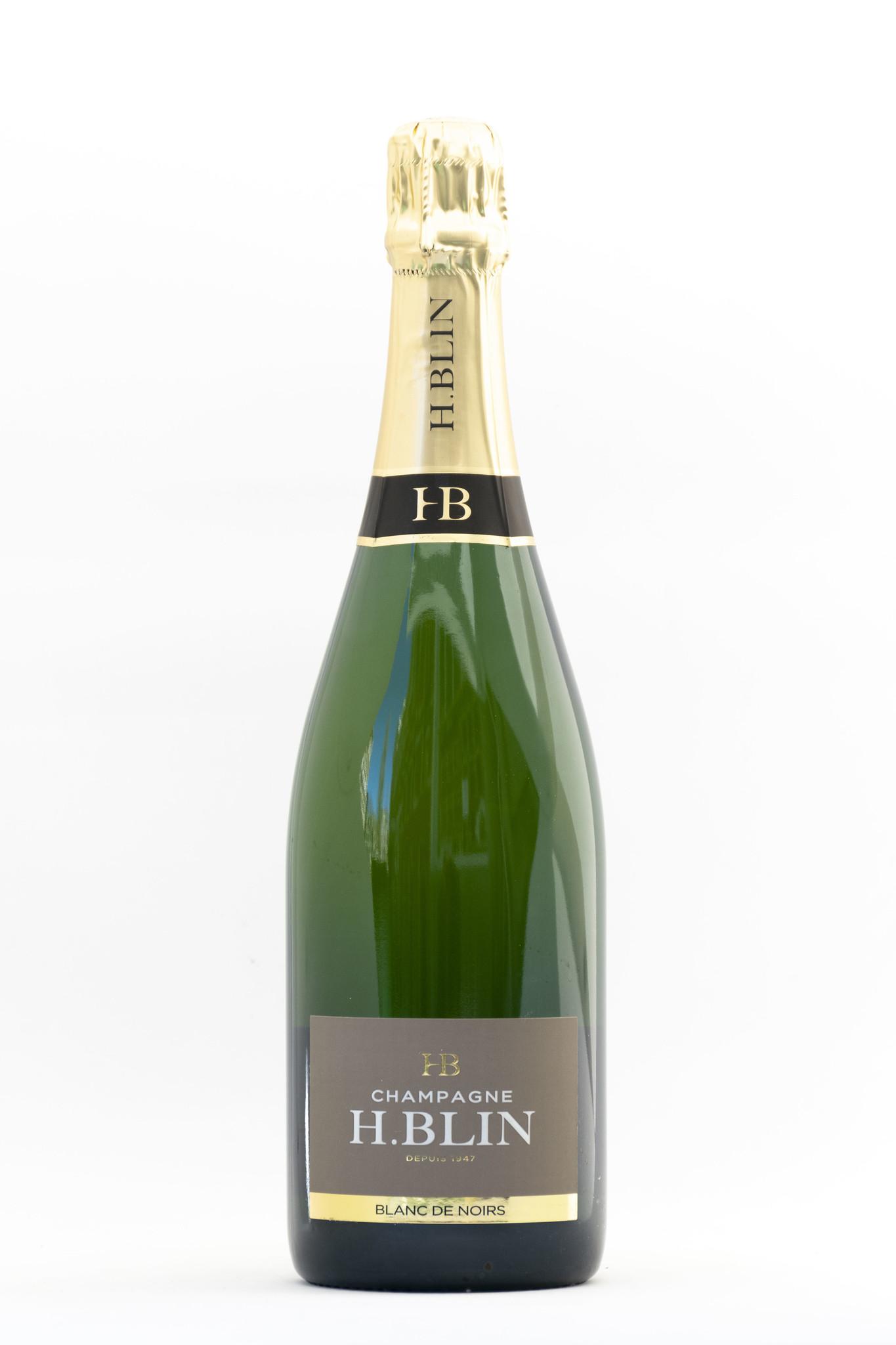 H. Blin | Blanc De Noir |Champagne  | Pinot Meunier |Bouteille