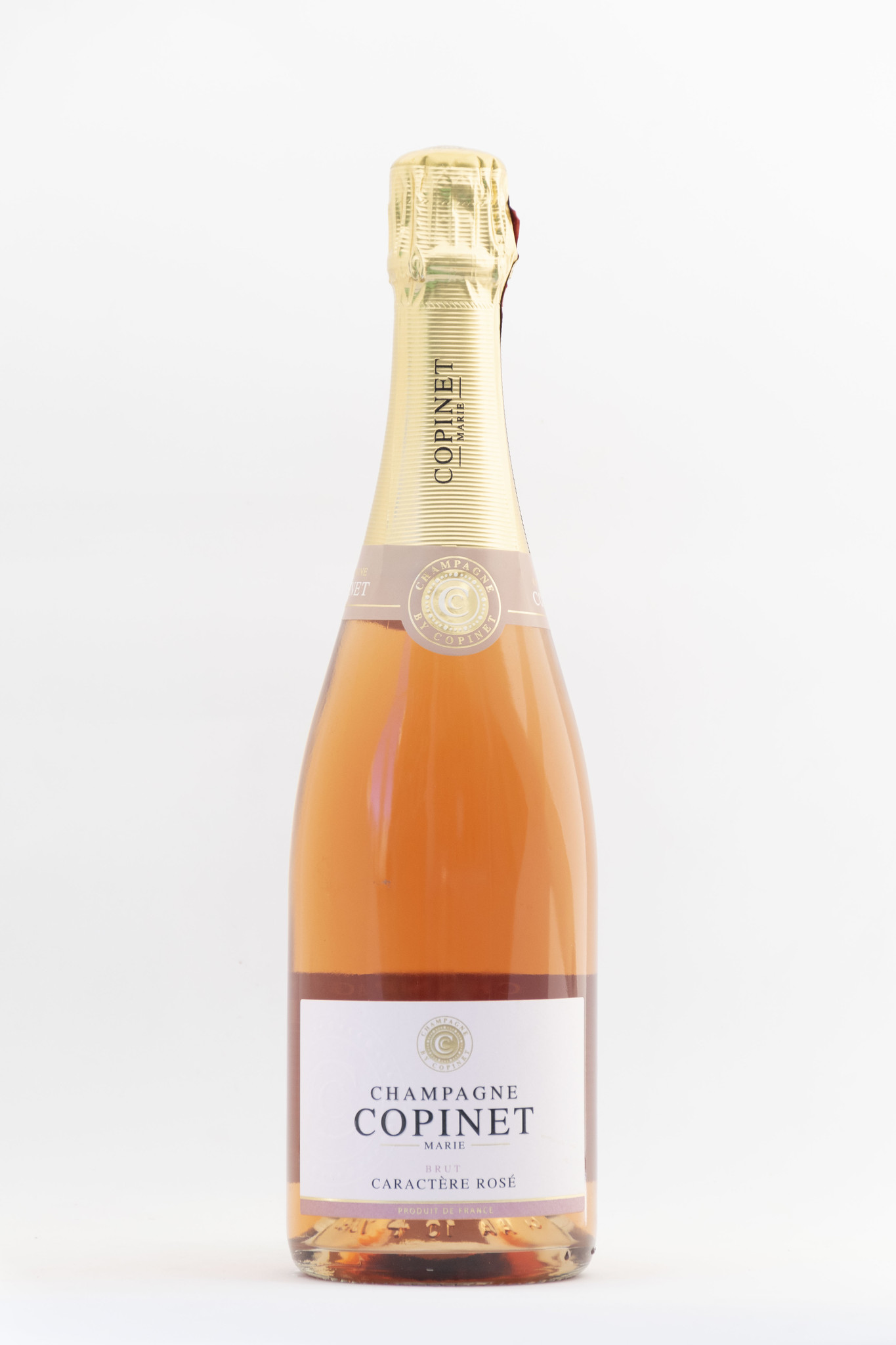 Caractere' Brut Rose | Champagne |Marie Copinet| Bouteille