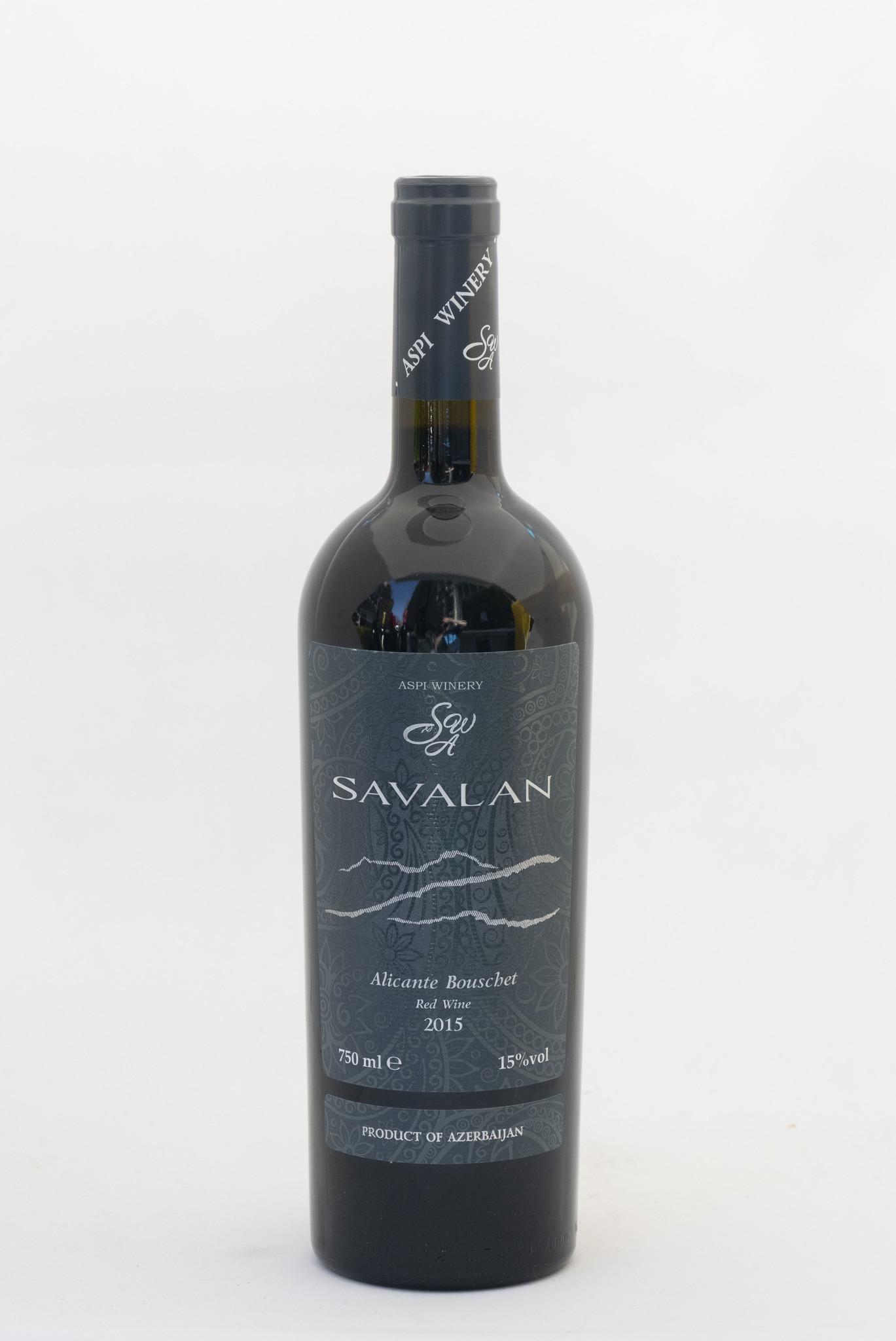 Savalan | Aspi Winery | Alicante bouschet | 2015
