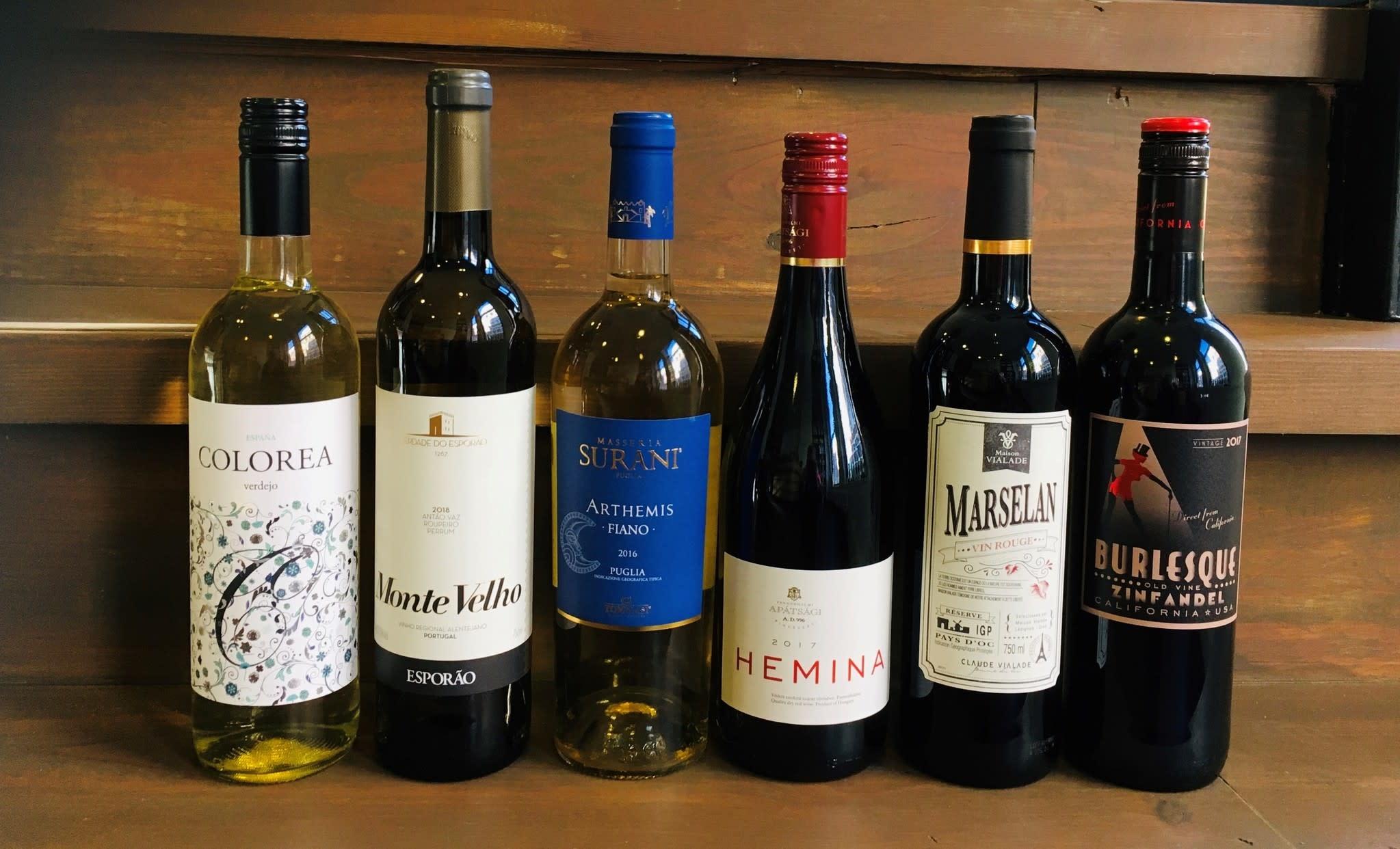 Thuis Wijnbox - Avontuurlijk rondreis langs huiselijke wijnen uit de wijnwereld handig bij elkaar in 1 doos.