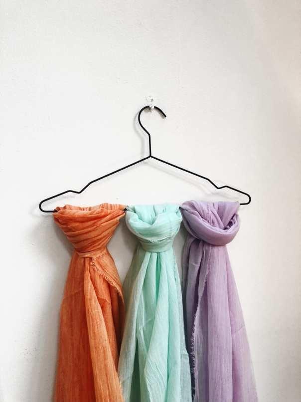 dunne-sjaals-summer-oranje-blauw-paars