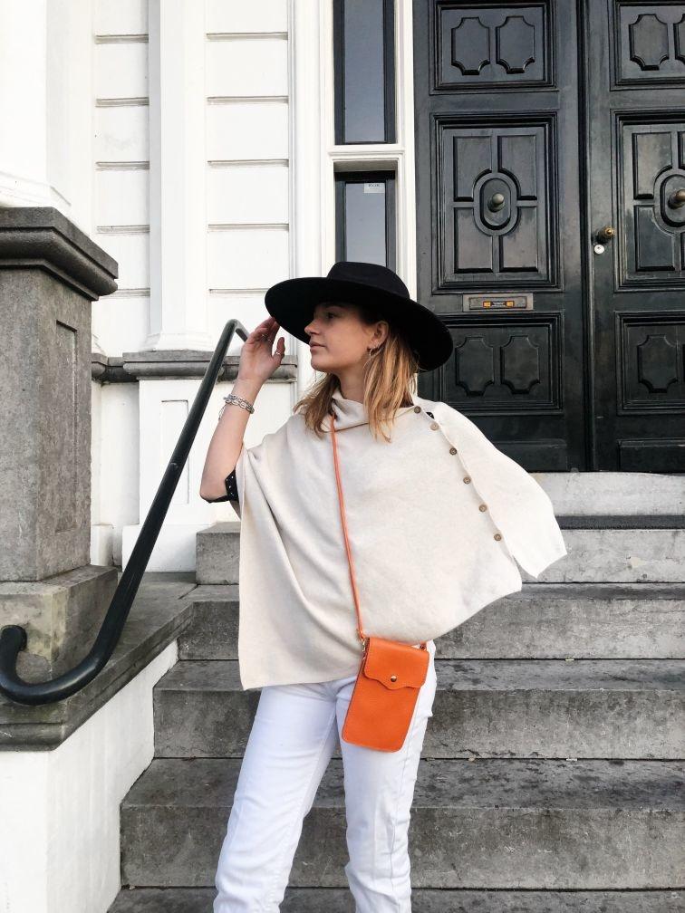 Telefoon tasjes dames oranje