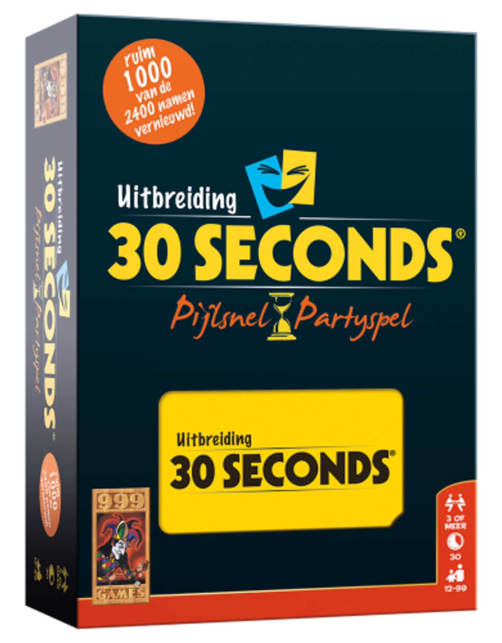 999-Games 30 Seconds: de Uitbreiding (NL)