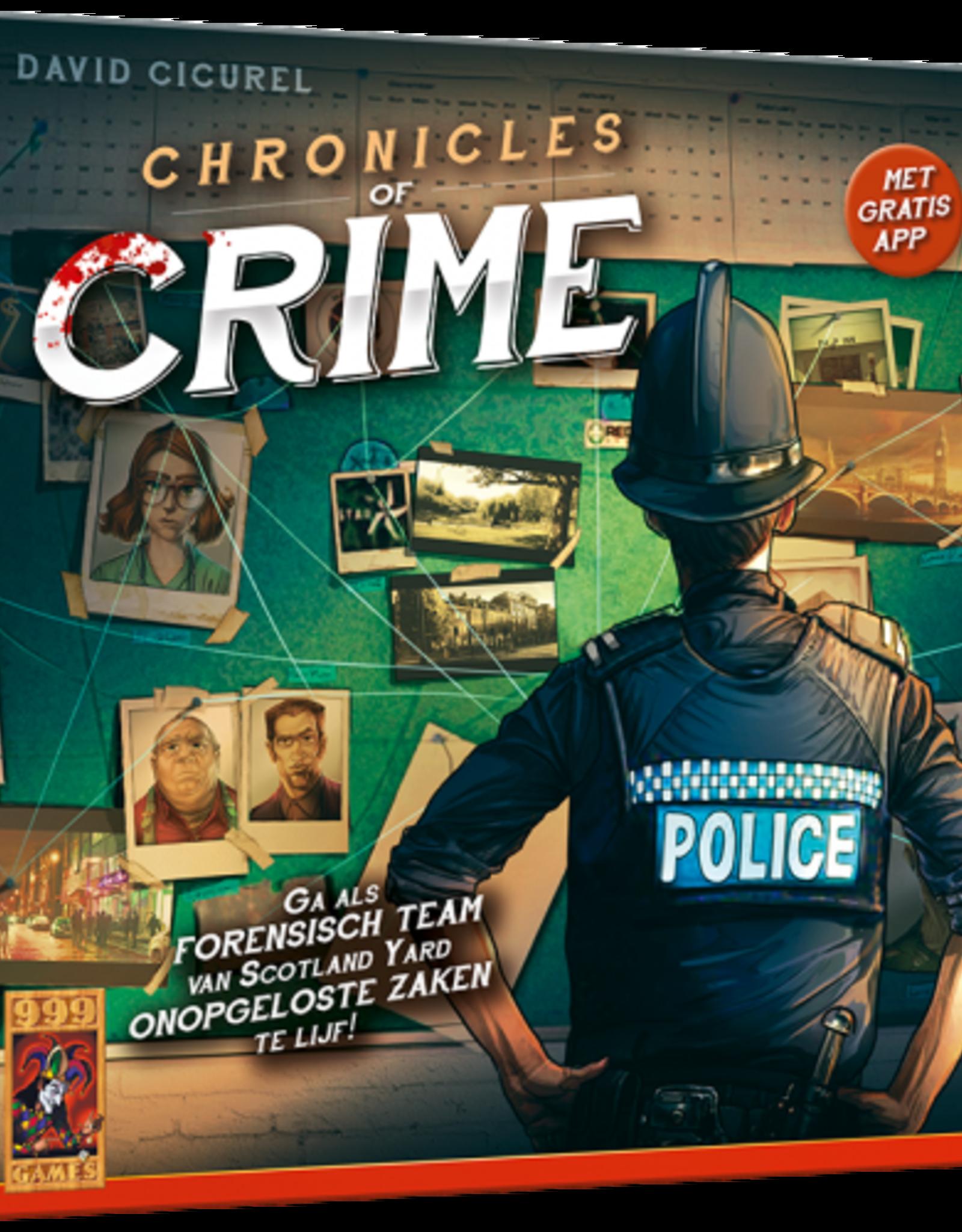 999-Games Chronicles of Crime (NL)