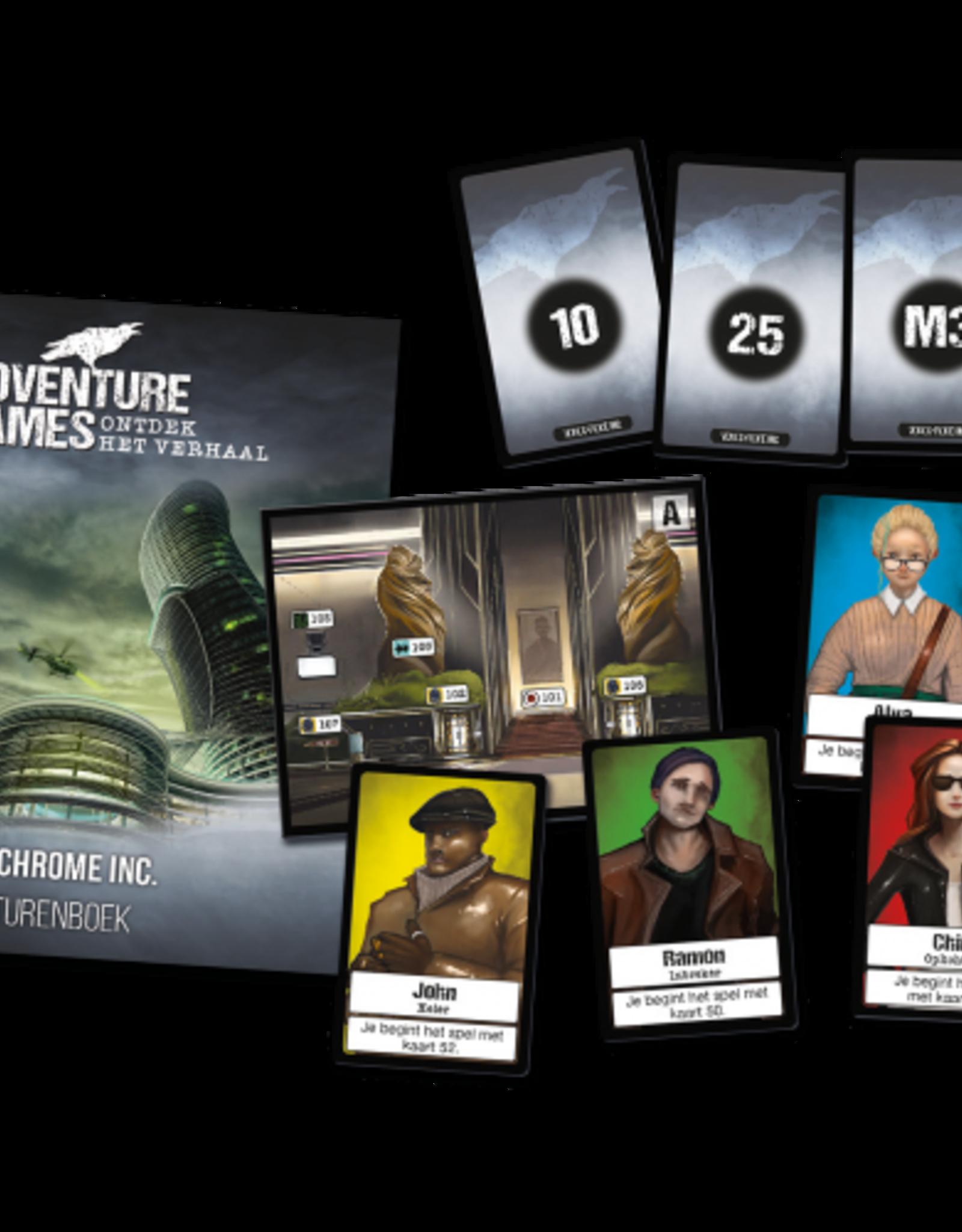 999-Games Adventure Games: Monochrome inc. (NL)