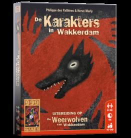 999-Games De Weerwolven van Wakkerdam Karakters in Wakkerdam