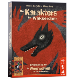 999-Games De Weerwolven van Wakkerdam: Karakters (NL)