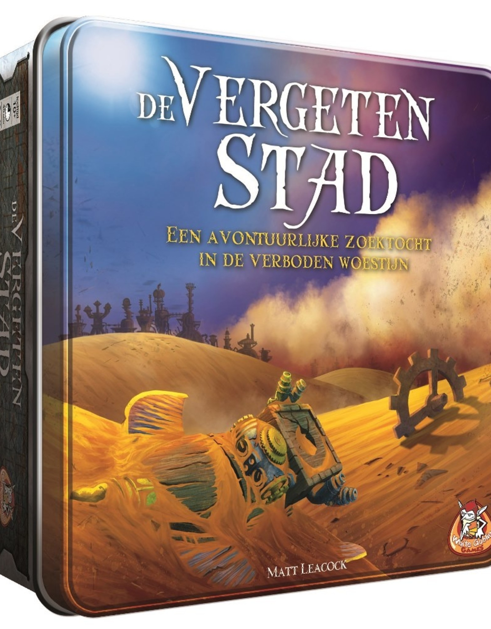White Goblin Games De Vergeten Stad (NL)