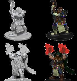 Wizkids D&D Nolzur's Marvelous Miniatures Dwarf Cleric Male