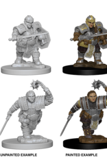 Wizkids D&D Nolzur's Marvelous Miniatures Dwarf Fighter Female