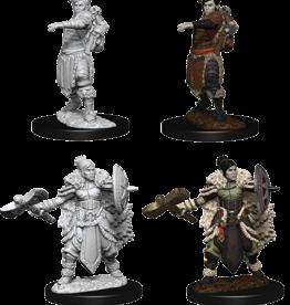Wizkids D&D Nolzur's Marvelous Miniatures Half-Orc Barbarian Female