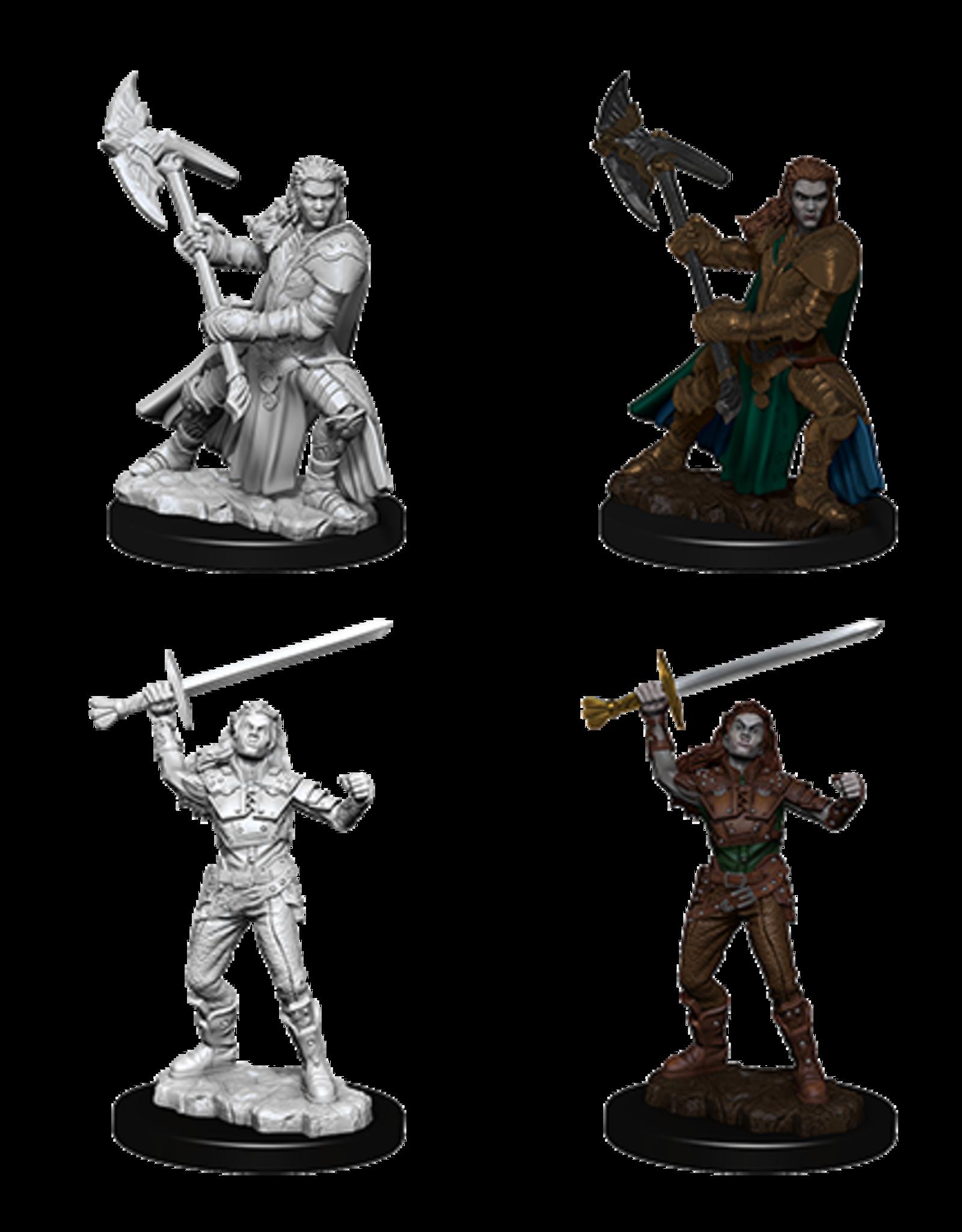 Wizkids D&D Nolzur's Marvelous Miniatures Half-Orc Fighter Female