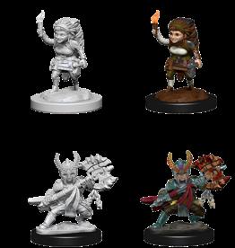 Wizkids D&D Nolzur's Marvelous Miniatures Halfling Fighter Female
