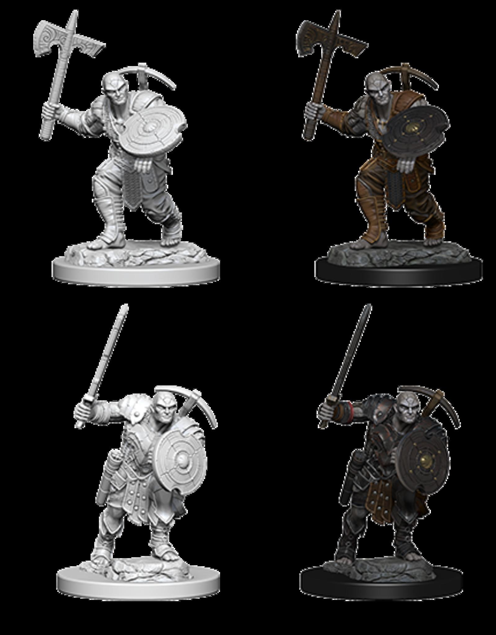 Wizkids D&D Nolzur's Marvelous Miniatures Earth Genasi Fighter Male