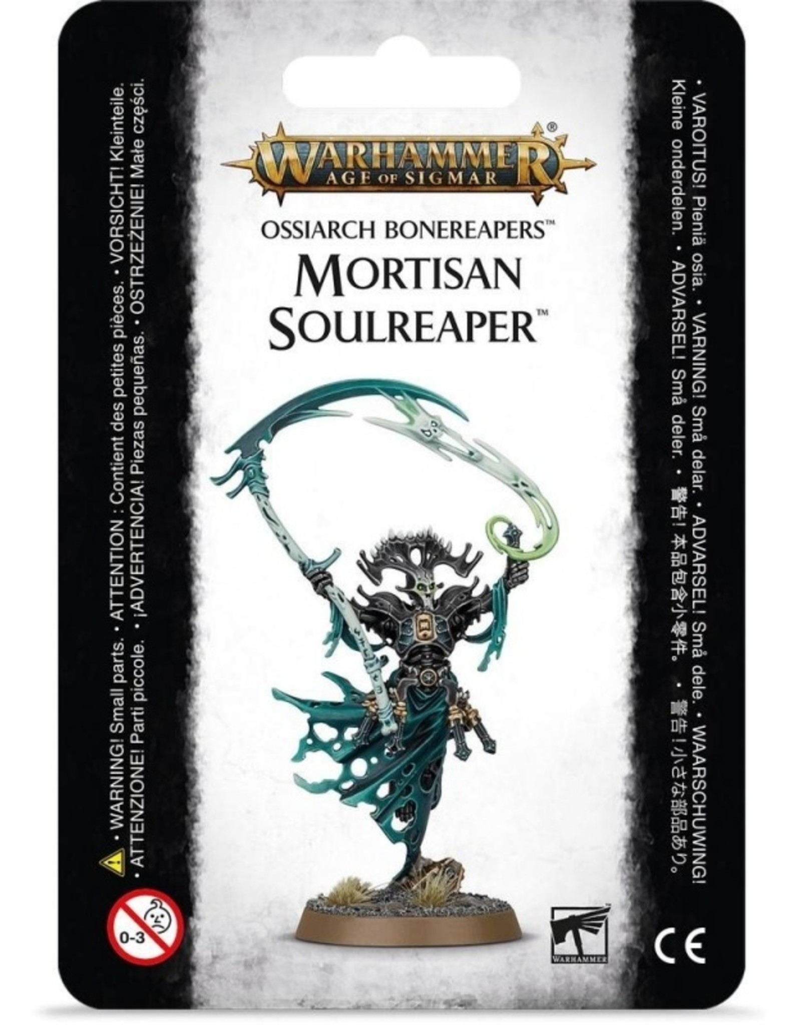 Games Workshop Ossiarch Bonereapers Mortisan Soulreaper