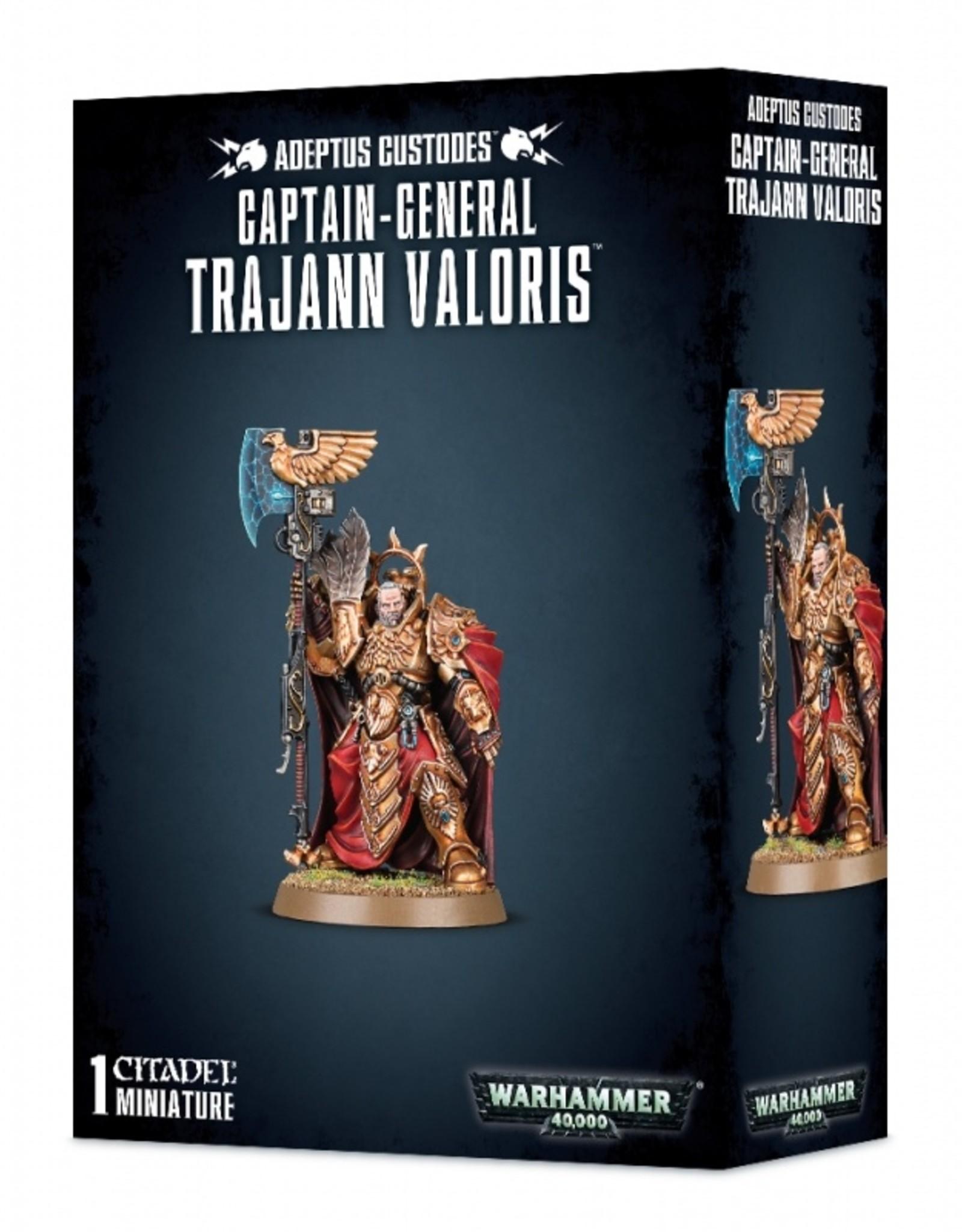 Games Workshop Adeptus Custodes Captain General Trajann Valoris