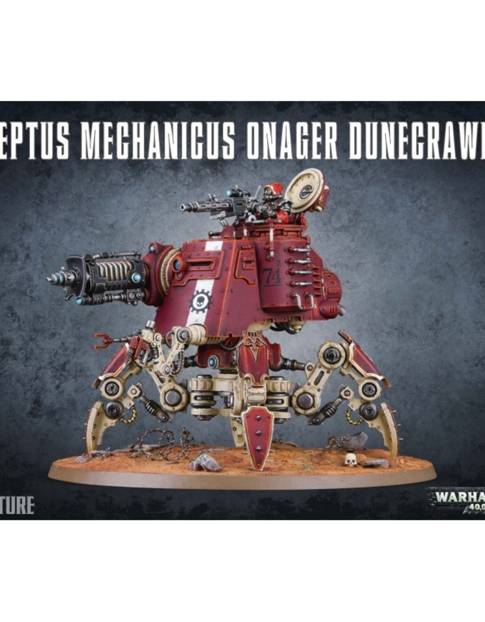 Games Workshop Adeptus Mechanicus Onager Dunecrawler