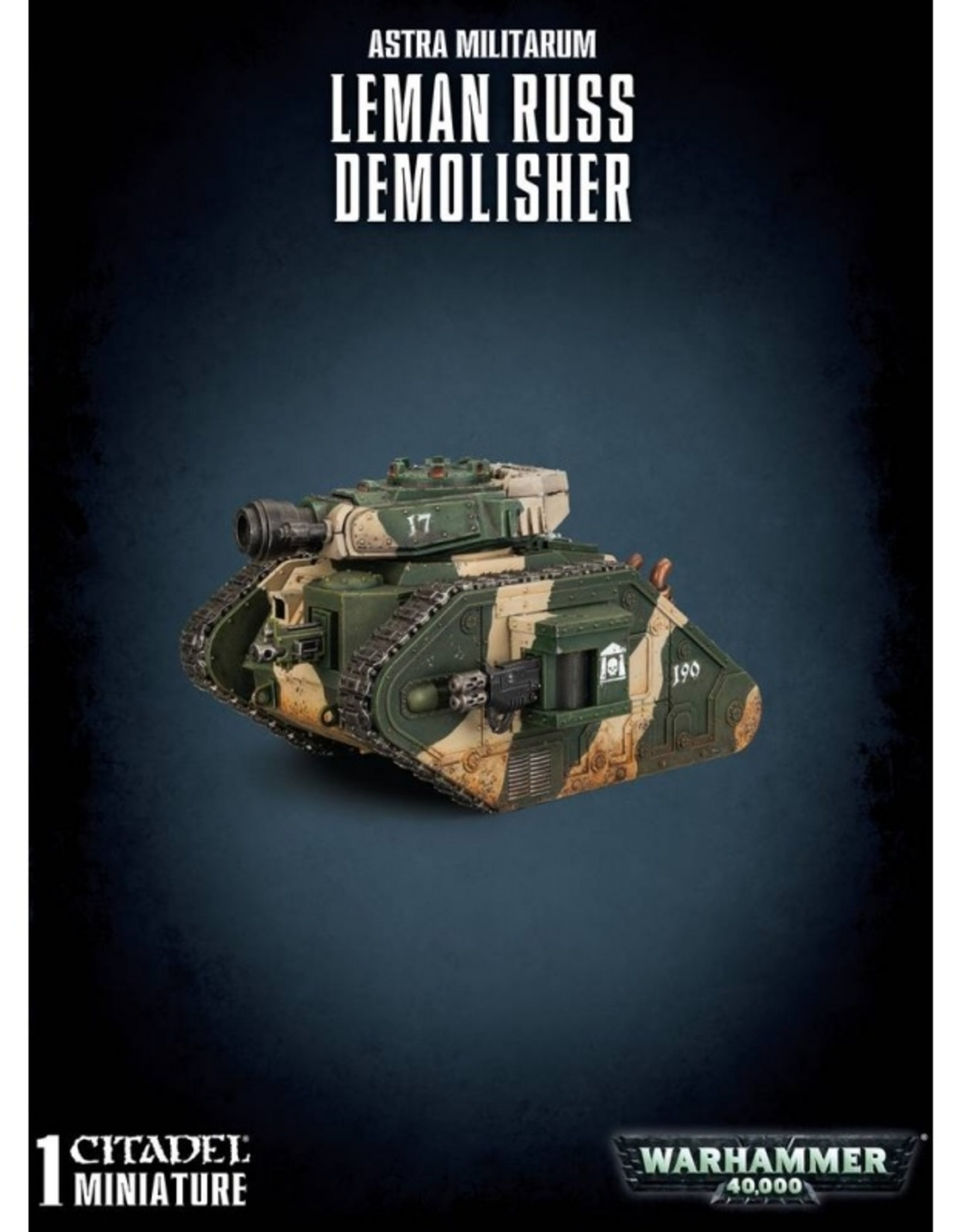 Games Workshop Astra Militarum Leman Russ Demolisher