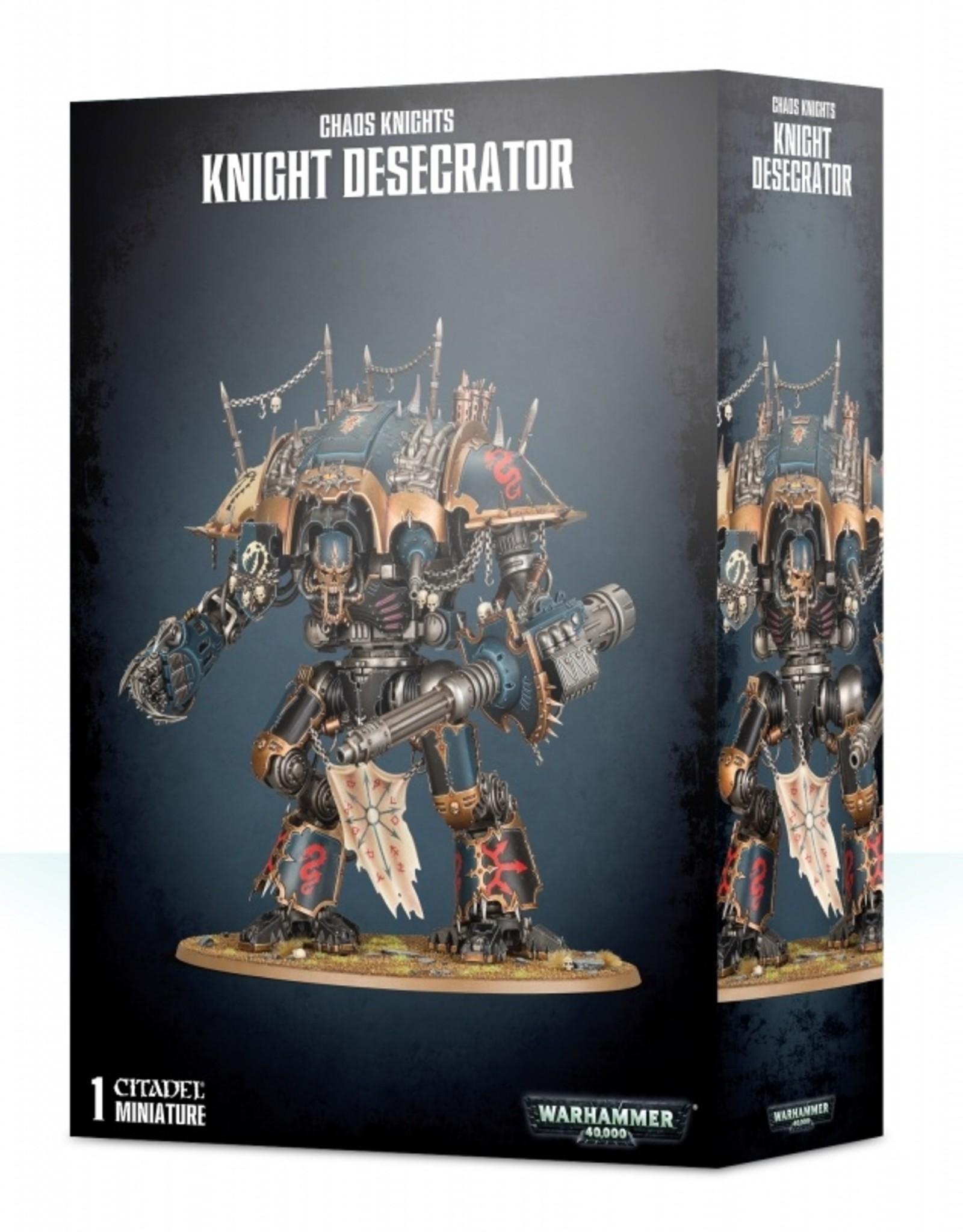 Games Workshop Chaos Knights Knight Desecrator