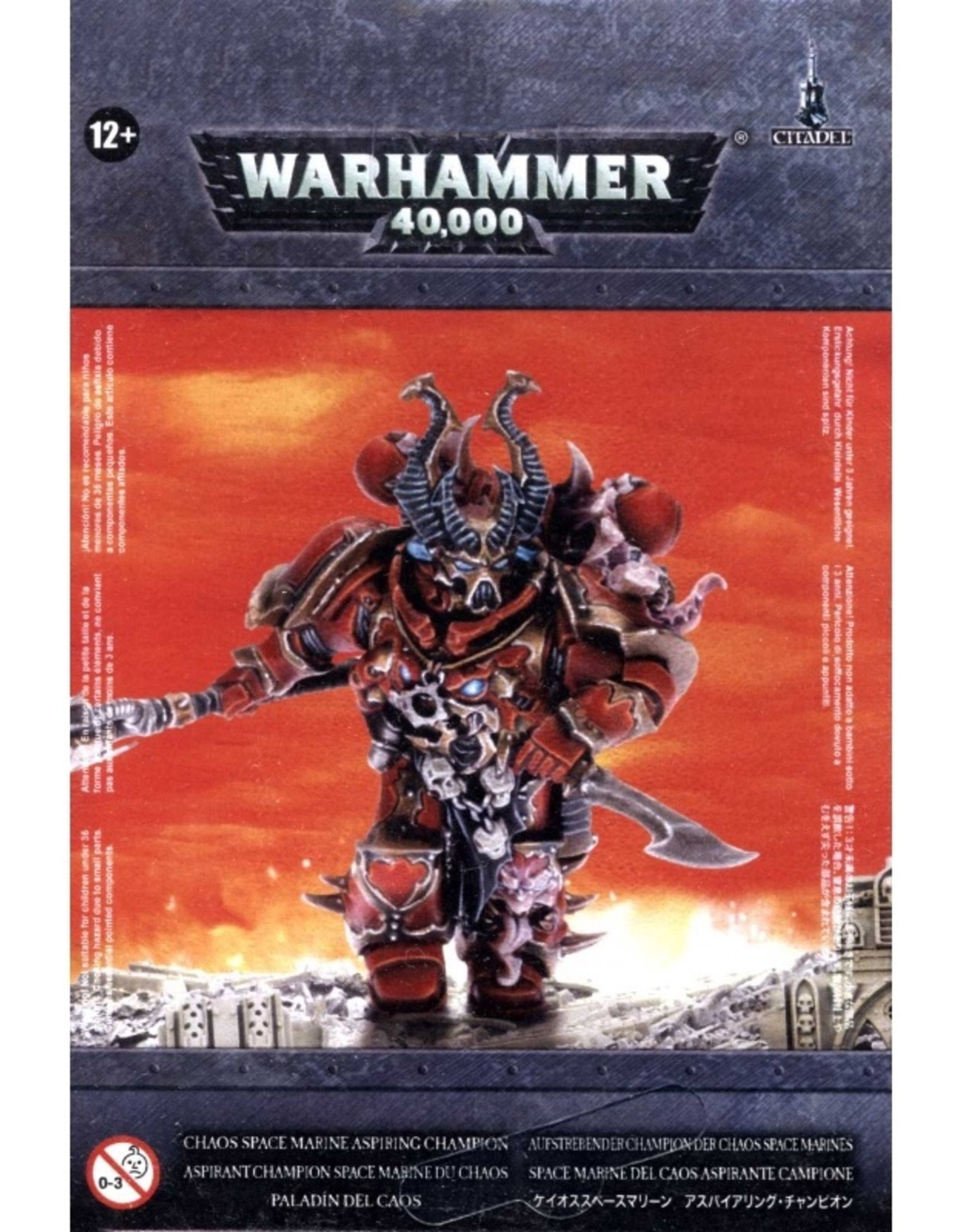 Games Workshop Chaos Space Marines Aspiring Champion