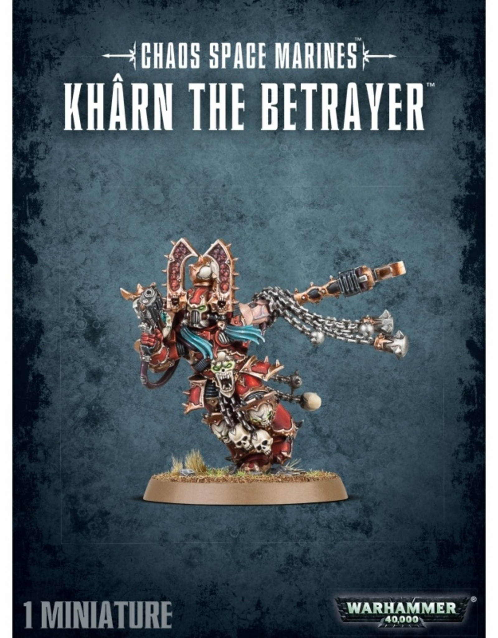 Games Workshop Chaos Space Marines Kharn the Betrayer