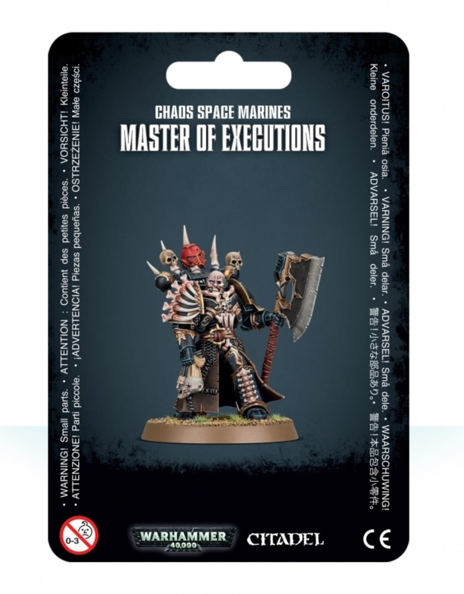 Games Workshop Chaos Space Marines Master of Executions