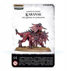Games Workshop Daemons of Khorne Karanak the Hound of Vengeance
