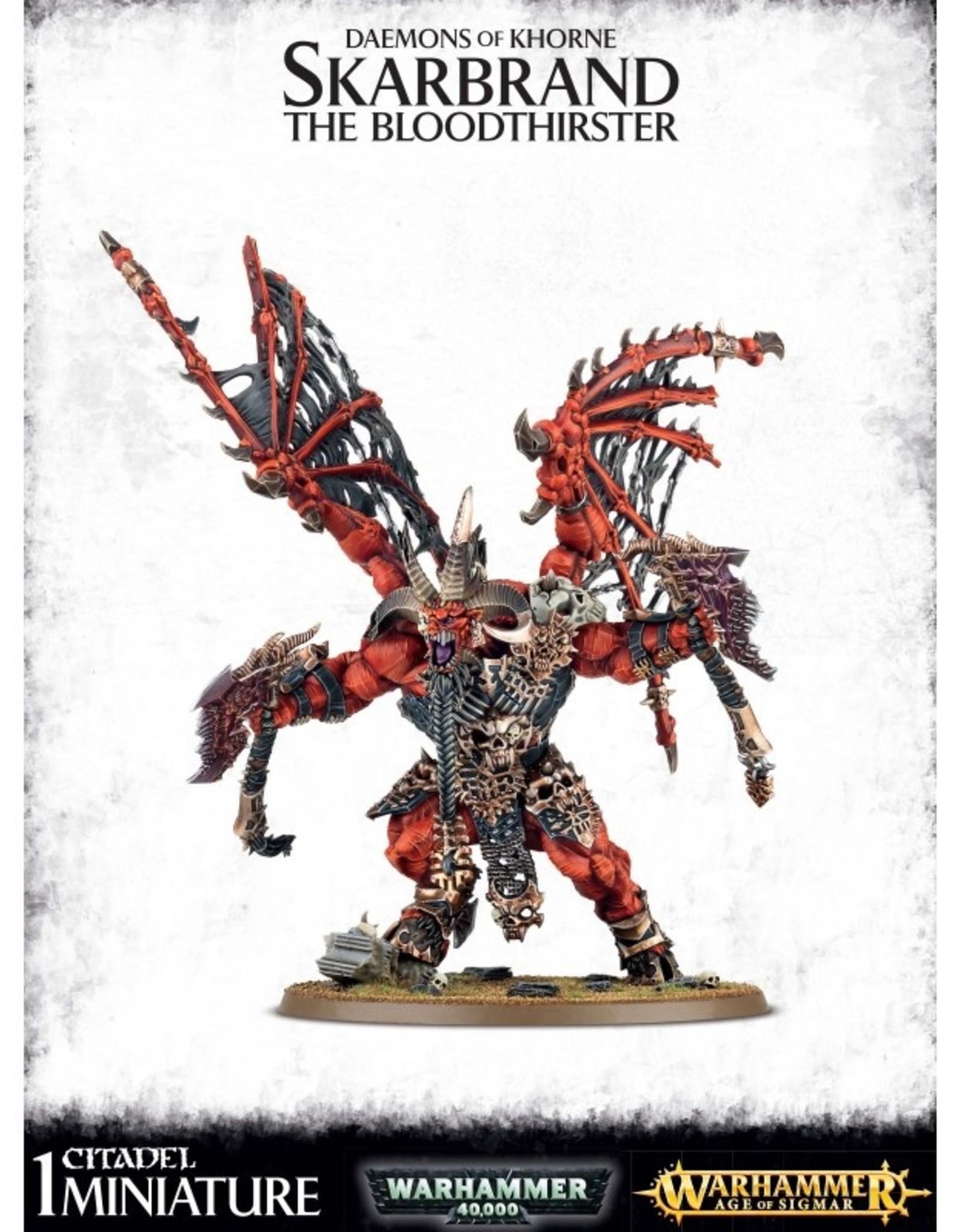 Games Workshop Daemons of Khorne Skarbrand the Bloodthirster