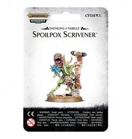 Games Workshop Daemons of Nurgle Spoilpox Scrivener