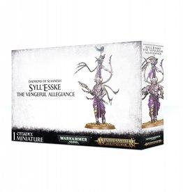 Games Workshop Daemons of Slaanesh Syll'Esske the Vengeful Allegiance