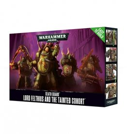 Games Workshop Death Guard Easy to Build Lord Felthius & the Tainted Cohort