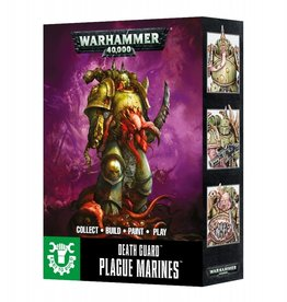 Games Workshop Death Guard Easy to Build Plague Marines