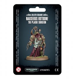 Games Workshop Death Guard Nauseous Rotbone the Plague Surgeon