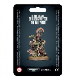 Games Workshop Death Guard Scribbus Wretch The Tallyman