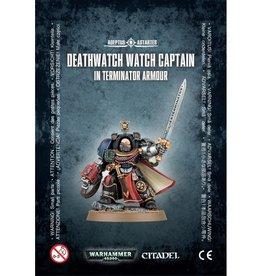 Games Workshop Deathwatch Watch Captain with Terminator Armour